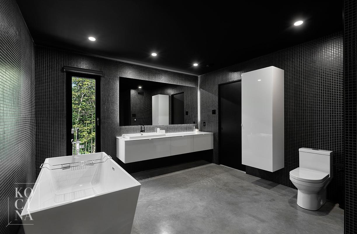 Réalisation de salle de bain design à Québec   KOCÏNA